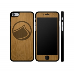Liquid Force Solo Drop Bamboo Real Wood iPhone 6/6S Case