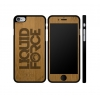 Liquid Force Stacked Bamboo Real Wood iPhone 6/6S Case