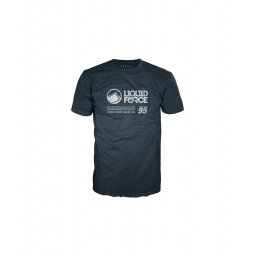 Liquid Force Label Midnight Navy Tee