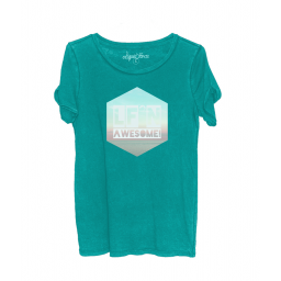 Liquid Force Awesome Teal WMNS Tee