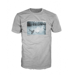 Liuid Force Air Time Light Grey Tee