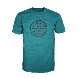 Liquid Force Badge Teal Tee