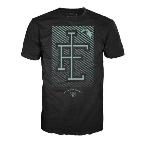LF 15 ABANDON KITE Blk koszulka L