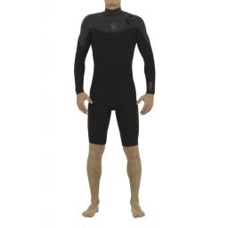 2018 Follow LONG ARM 2/2 black wetsuit