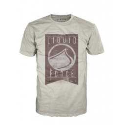 Liquid Force Pennant Sand T-Shirt