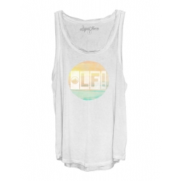 Liquid Force LF! White Tanktop