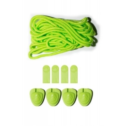 Liquid Force Lace Lock Kit Green