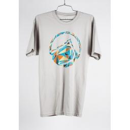 LF 14 ROCK SIDE TEE SILV Koszulka