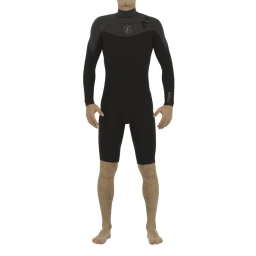 2018 Follow LONG ARM 2/2 black wetsuit