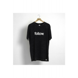 FOLLOW 2020 STONE CORP T-shirt BLK